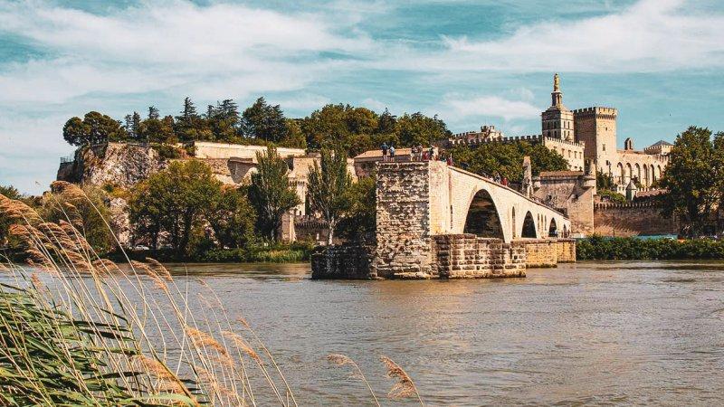 Brücke über Rhone