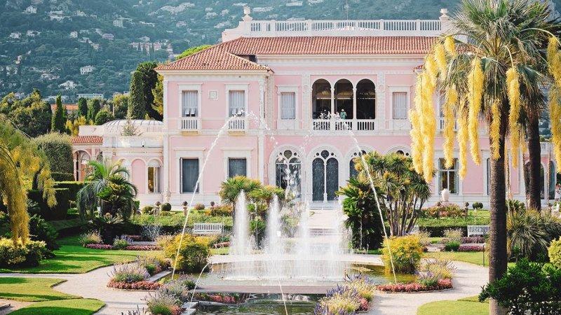 Villa Ephrussi de Rothschild Frontansicht